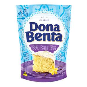 Mistura para Bolo Dona Benta<br>Linha Caseiros<br> Baunilha