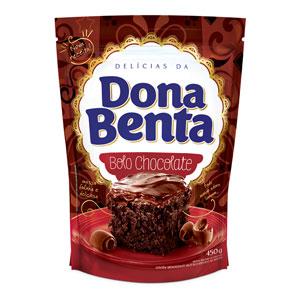 Mistura para Bolo Dona Benta<br>Linha Delícias<br> Chocolate
