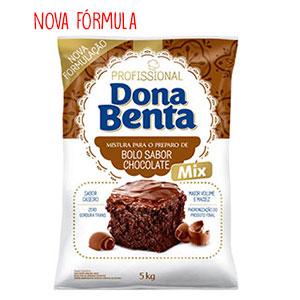 Mistura para Bolo Dona Benta  Chocolate