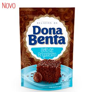 Mistura para Bolo Dona Benta<br>Linha Delícias<br> Brigadeiro