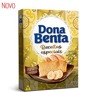 Mistura para Bolo Dona Benta <br> Linha Receitas Especiais<br>Banana Caramelizada