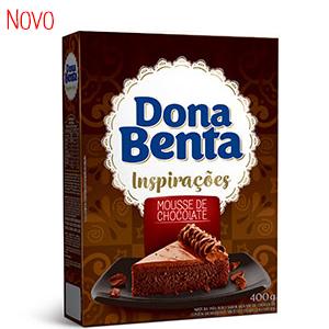 Mistura para Bolo Dona Benta <br> Linha Inspirações <br>Mousse de Chocolate