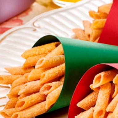 Macarrão Frito com Canela