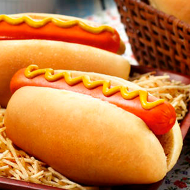 Pão para Cachorro-Quente