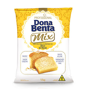 Mistura para Bolo Dona Benta Milho