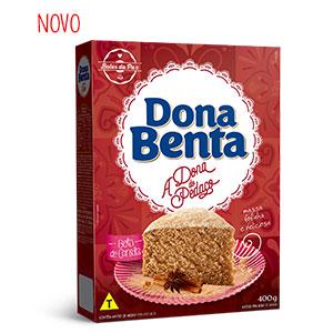 Mistura para Bolo Dona Benta <br>Linha A Dona do Pedaço<br> Canela