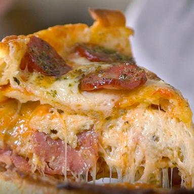Bolo de pizza